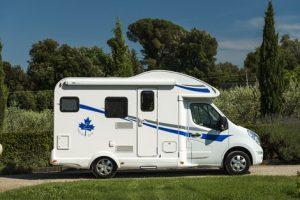 Ahorn 595 prohlídka karavanu